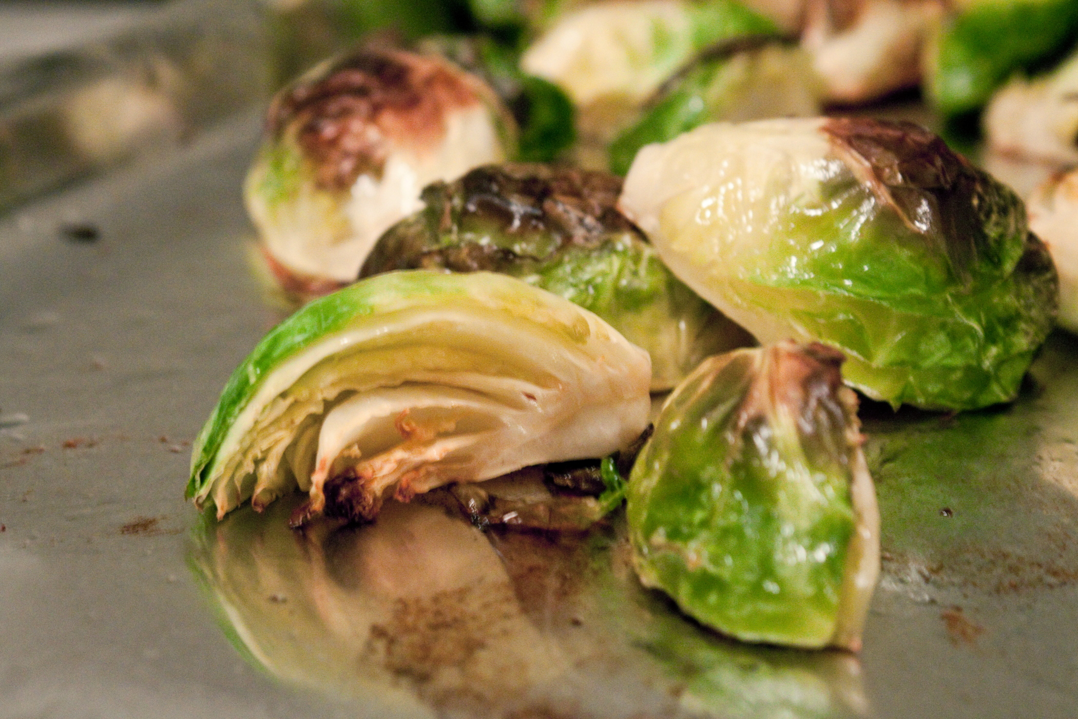 Braised Brussels Sprouts With Shallots And Parmesan Recipe ...