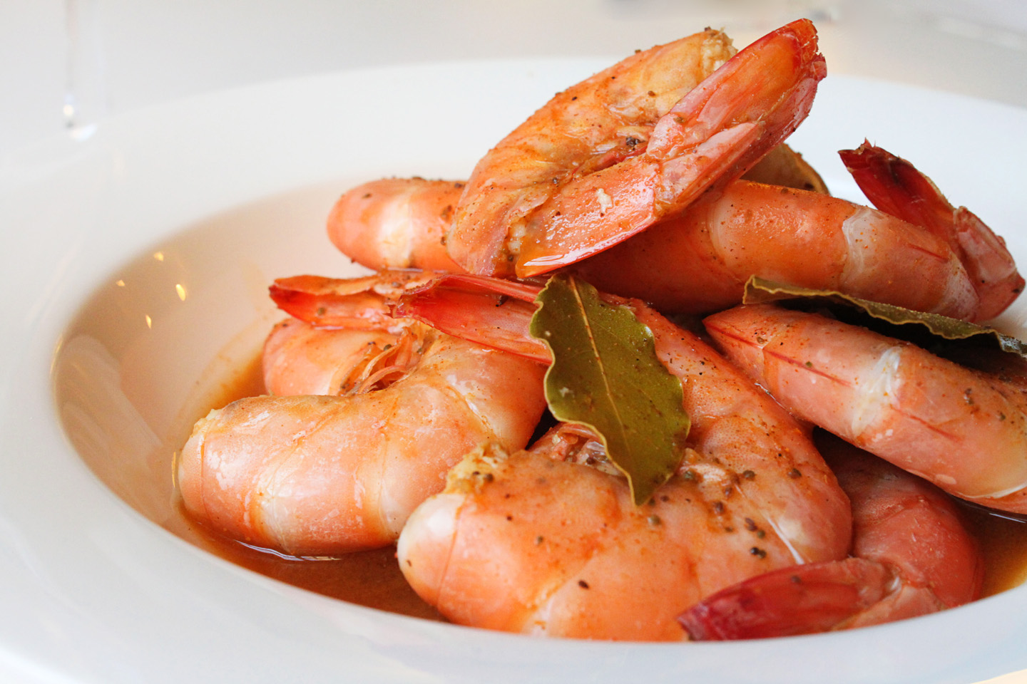 Old Bay Steamed Shrimp | The Pearl Onion